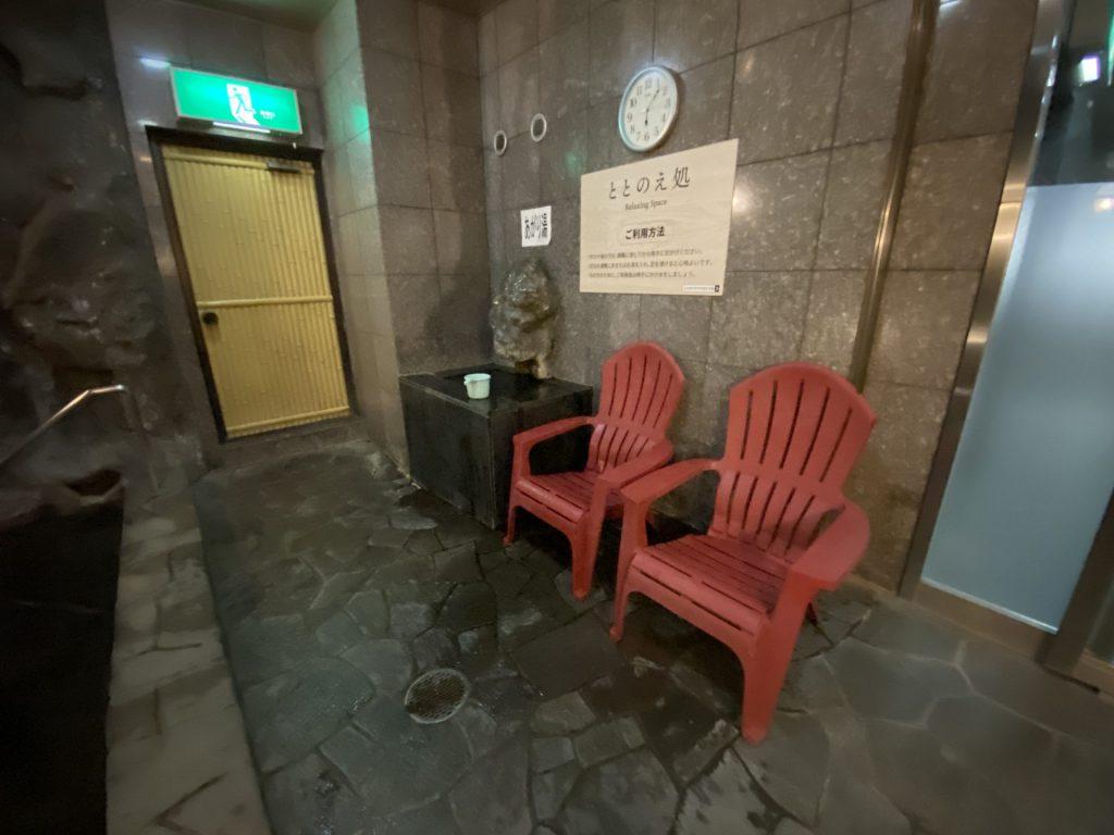 帯広 premierCabin 外気浴 露天風呂