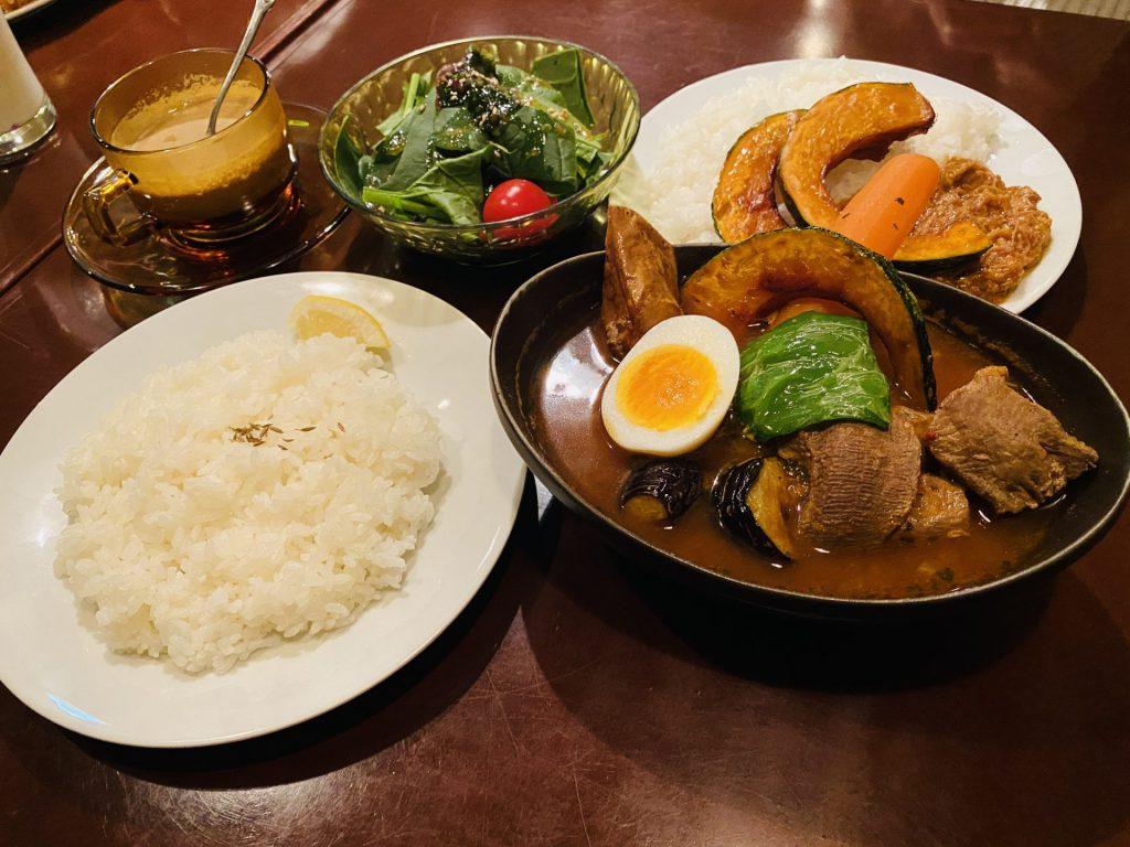 帯広 夜のスープカレー屋さん サ飯